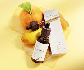 sérum facial de vitamina c recomendado Nanoil